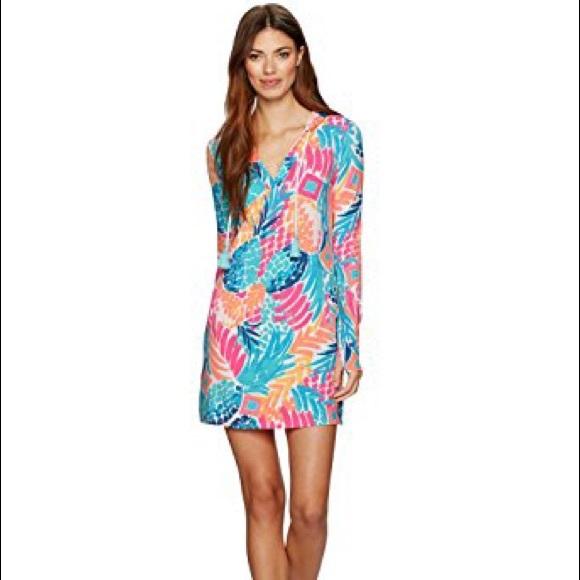9e3b310d6b Lilly Pulitzer Swim | Upf 50 Rylie Cover Up Dress | Poshmark